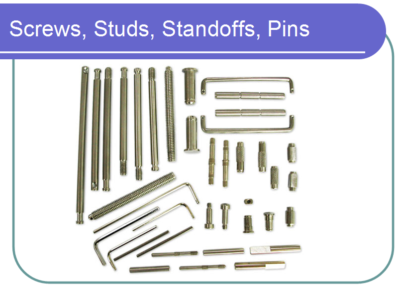 Screws,Studs,Standoffs,Pins